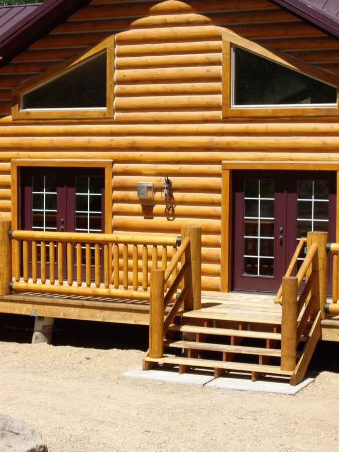 Custom Cabin Contractor Beaver Utah Exterior