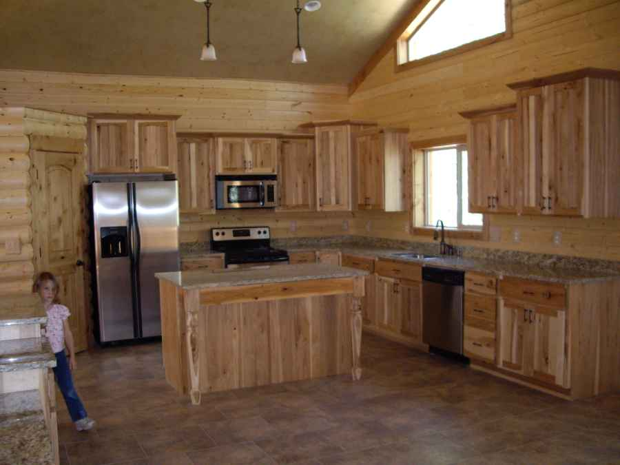 Beaver Utah Custom Cabin Builder Kitchen