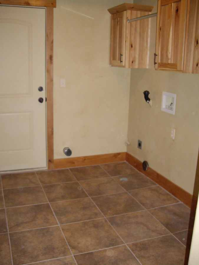 Custom Cabin Laundry Room Beaver Utah