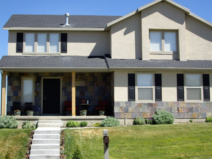 Eagle Mountain Utah Exterior Renovation