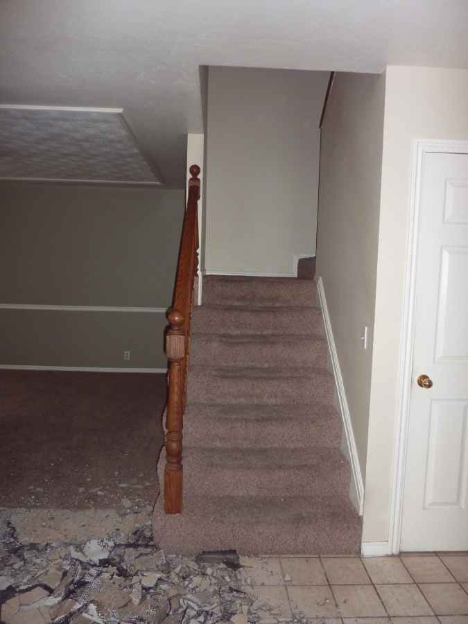 Orem Utah Home Entry Remodel Before