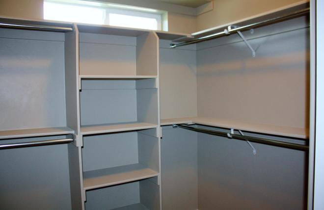 Midvale Utah Home Contractor Closet