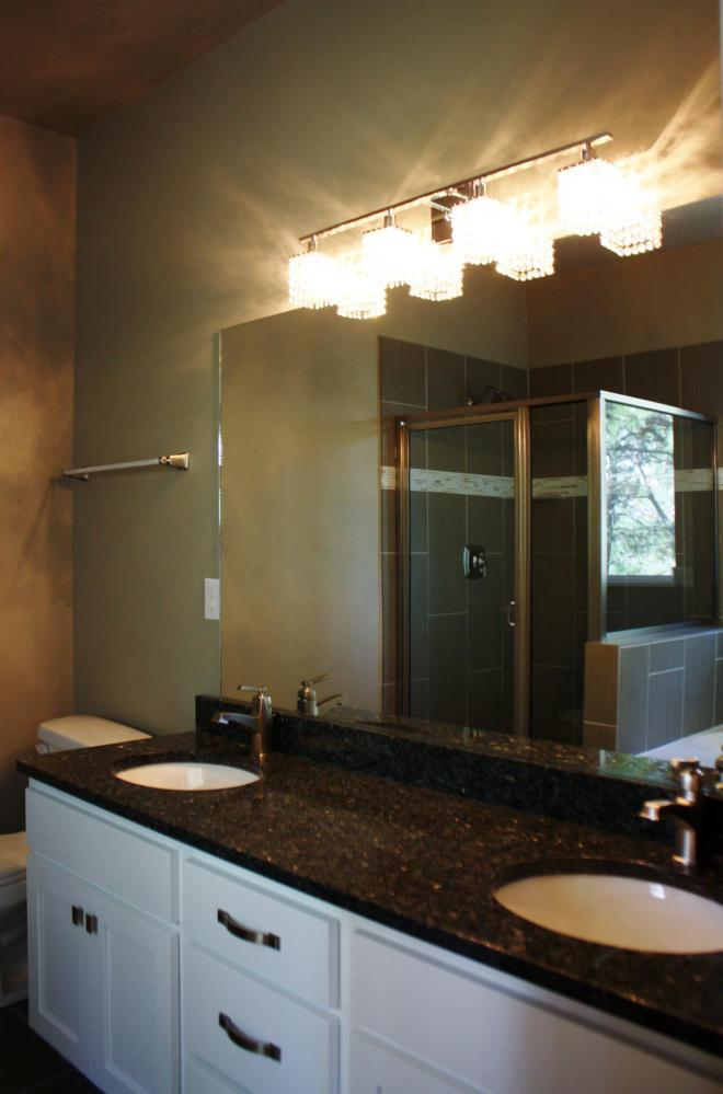 Midvale Utah Home Master Bathroom Vanity