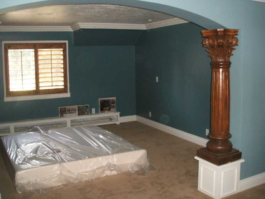Highland Utah Home Renovation Master Bedroom
