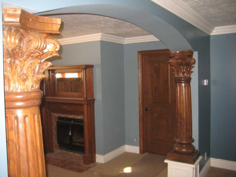 Highland Utah Home Renovation Argentinean Columns