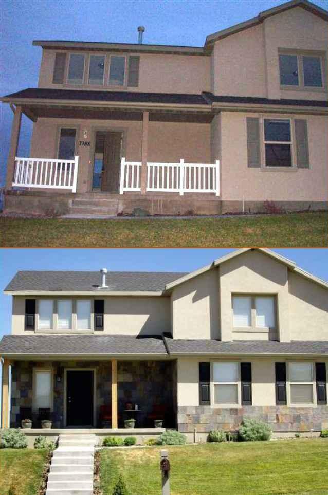 Utah Valley Exterior Remodel Homebuilder