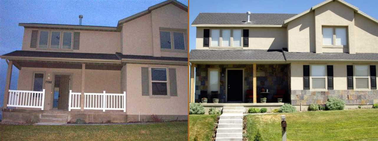 Eagle Mountain Home Renovation Before After