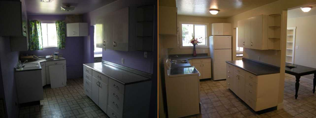 Utah Valley Kitchen Remodel Before After