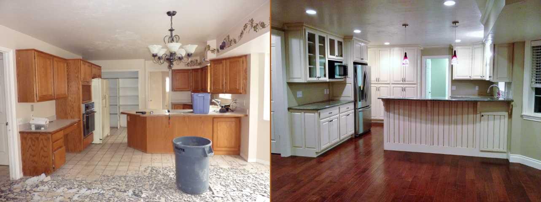 Orem Utah Home Kitchen Renovation Before After