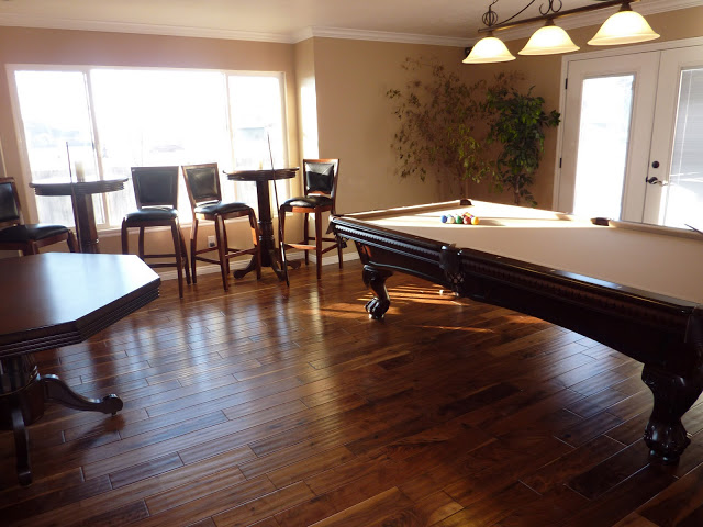 New billiard room